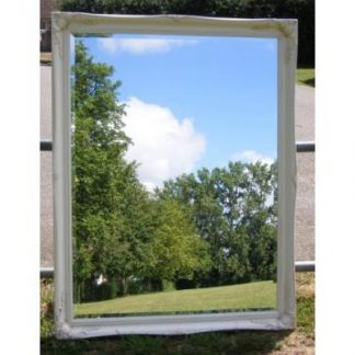 ornate classic ivory mirror 30x40