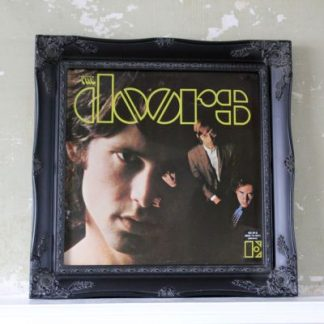 "ornate black 12"" LP record cover picture frame"