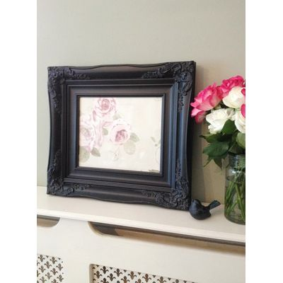 traditional black picture frame 10x12