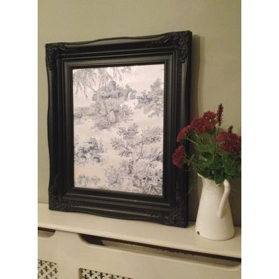 traditional black picture frame 16x20