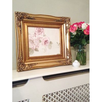 traditional gold picture frame 10x12