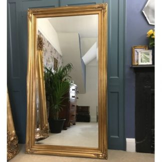traditional gold mirror 30x60