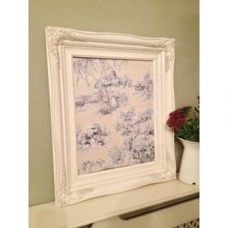 traditional ivory picture frame 16x20