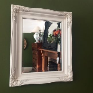 traditional ivory mirror 16x20