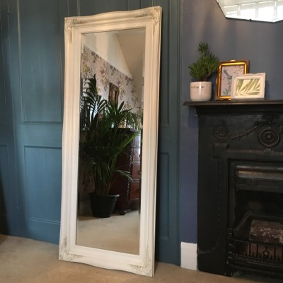 traditional ivory mirror 18x54
