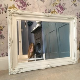 traditional ivory mirror 20x30