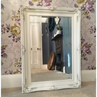 traditional ivory mirror 24x36