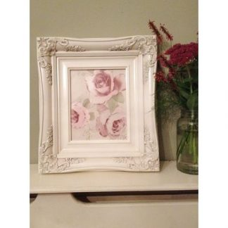 traditional ivory picture frame 8x10