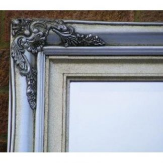 traditional champagne silver mirror 30x60