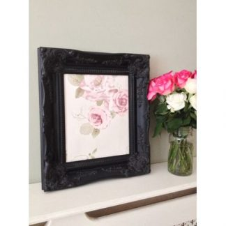 classic black picture frame 10x12