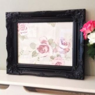 classic black picture frame 10x14