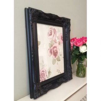 classic black picture frame 12x16