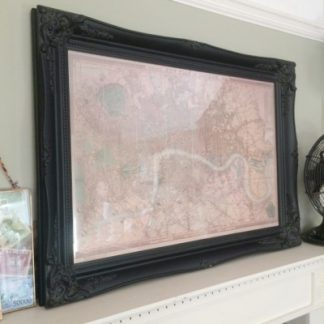 classic black picture frame 20x30