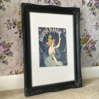 classic black picture frame 24x36