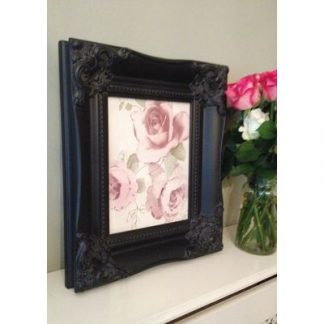 classic black picture frame 8x10