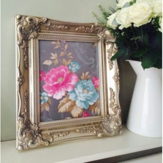 classic champagne silver picture frame 10x12
