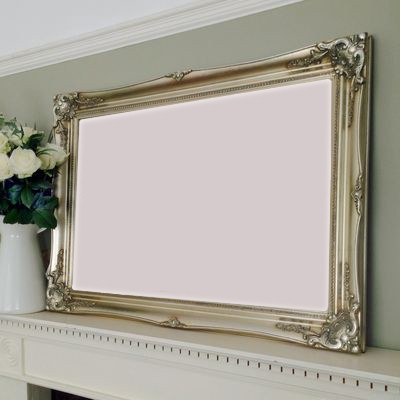 classic champagne silver picture frame 24x36