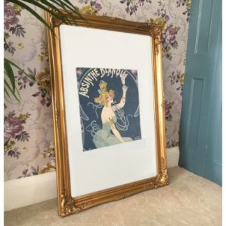 classic gold picture frame 24x36
