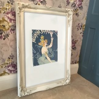 classic ivory picture frame 20x30
