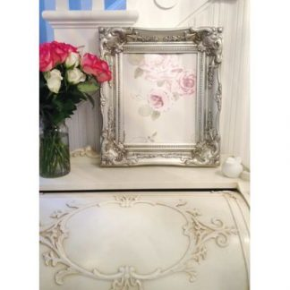 classic silver picture frame 10x12
