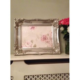 classic silver picture frame 10x14