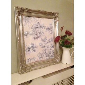 classic silver picture frame 16x20