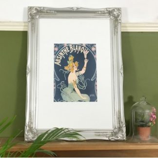 classic silver picture frame 24x36