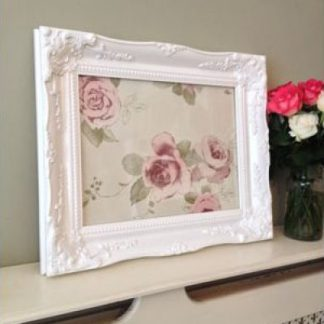 classic white picture frame 10x14