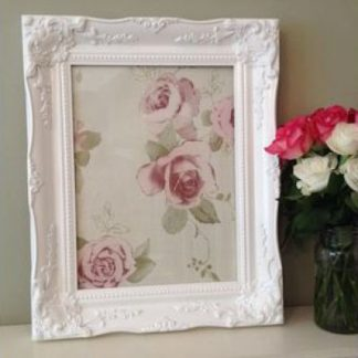 classic white picture frame 12x16