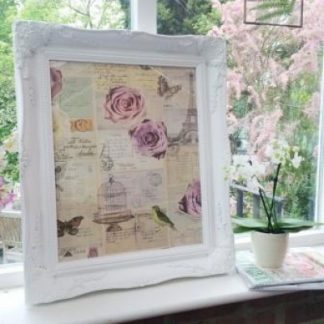 classic white picture frame 16x20