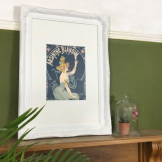 classic white picture frame 24x36