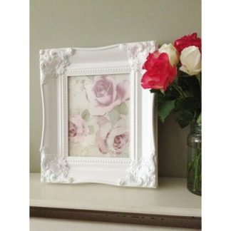 classic white picture frame 8x10