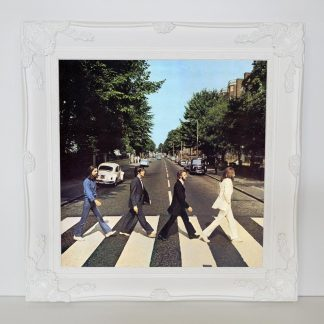 "white 12"" record frame"