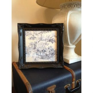 black ornate picture frame 12x12