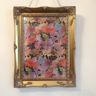 gold ornate picture frame 11x14