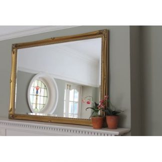 gold ornate mirror 24x36