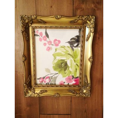 a4 gold ornate picture frame