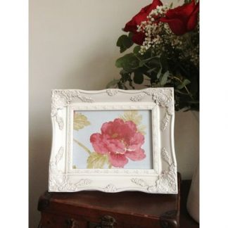 ivory ornate picture frame 5 x 7