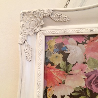 ivory ornate picture frame 11x14