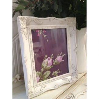 ivory ornate picture frame 8x10