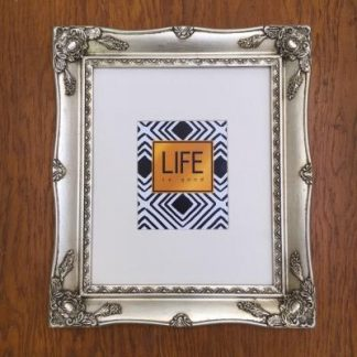 silver ornate picture frame 10x12