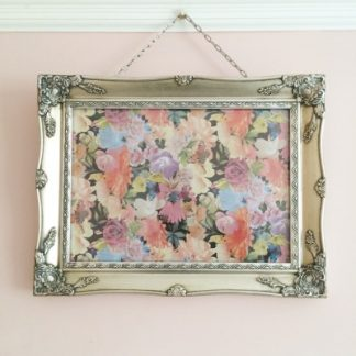 silver ornate picture frame 11x14