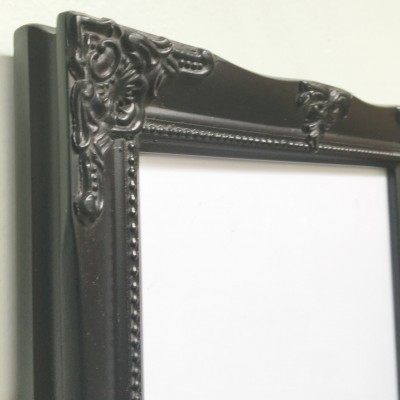 detailed black a4 picture frame