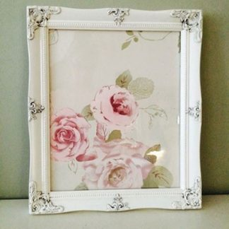 detailed ivory a4 picture frame