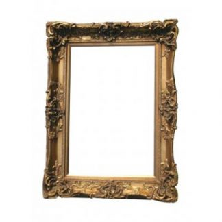 monaco ornate gold picture frame 24x36