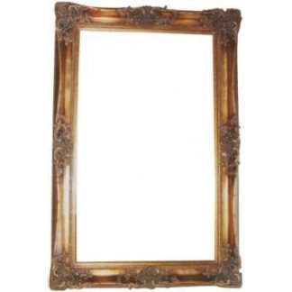 monaco ornate gold picture frame 36x60