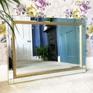 abbie gold mirror 20x30