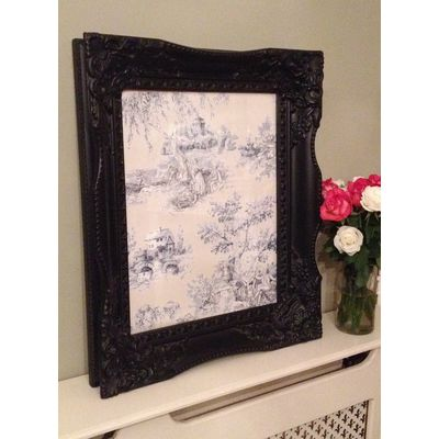 tuscany black picture frame 16x20