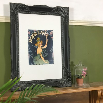 tuscany black picture frame 20x30