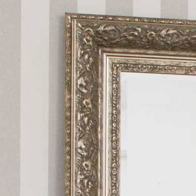 channing champagne silver mirror
